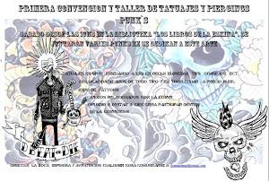 1 komvencion de de tatuadores punks ARTE Y SABOTAJE