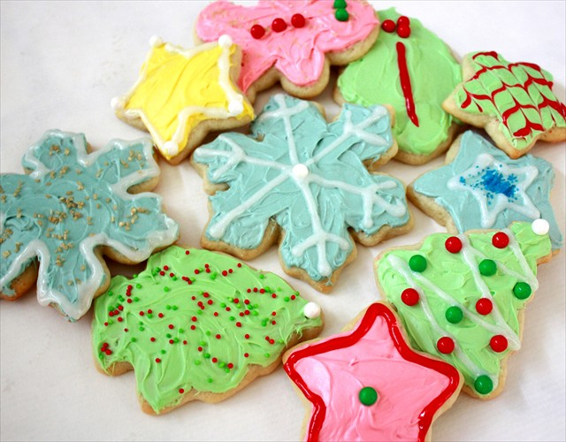 SOFT CHRISTMAS SUGAR COOKIES: Butter With A Side of Bread