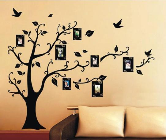 Bring the Nature Inside With Tree Wall Stickers