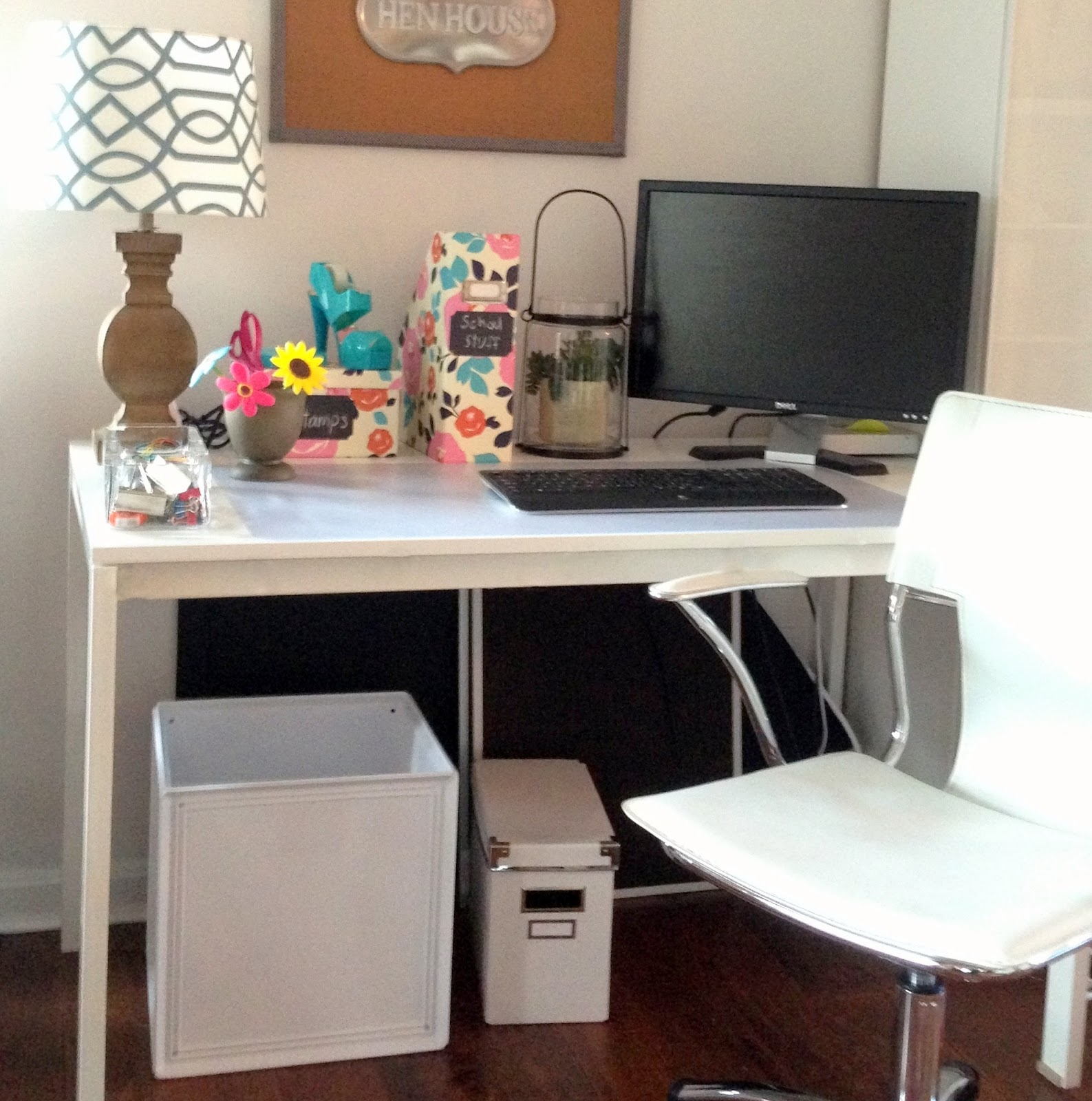 Looking for an instant way to hide your 'under desk' clutter?