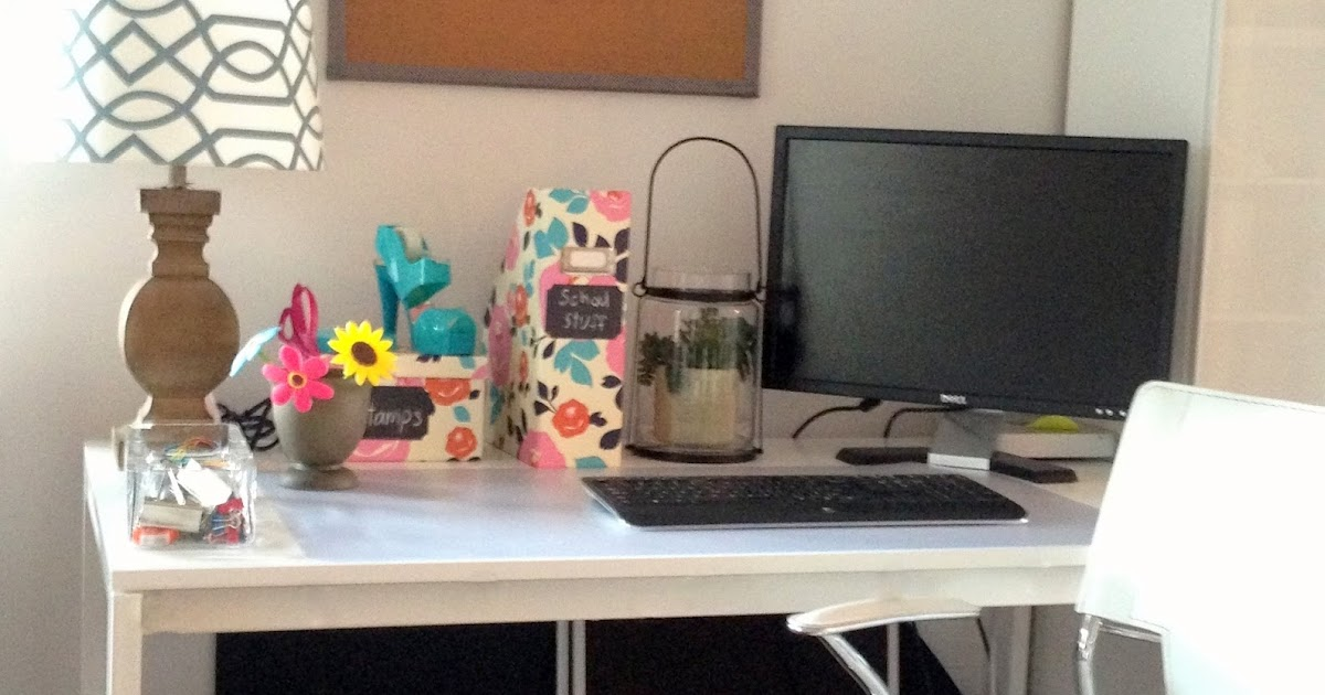 Loveyourroom Diy Home Office Desk Skirt Hides Clutter
