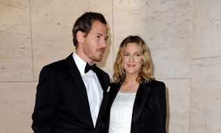 Drew Barrymore and Will Kopelman,