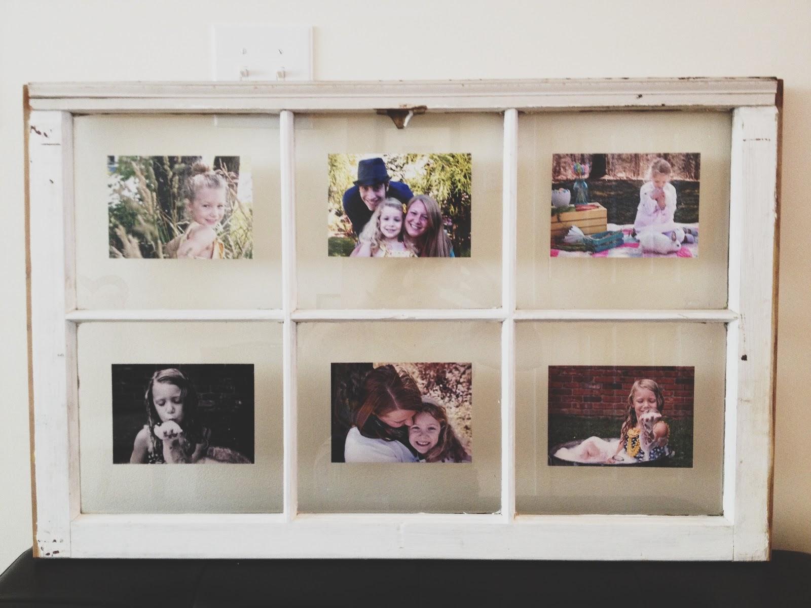 Mandie Starkey Diy Old Vintage Window Frame