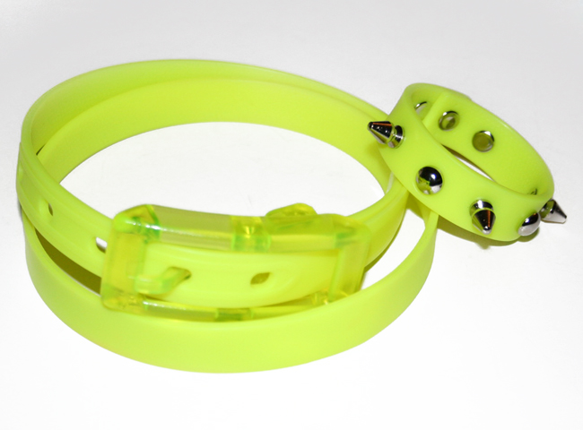 How shorten the belt and make a matching bracelet, By Xenia Kuhn for www.fashionrolla.com