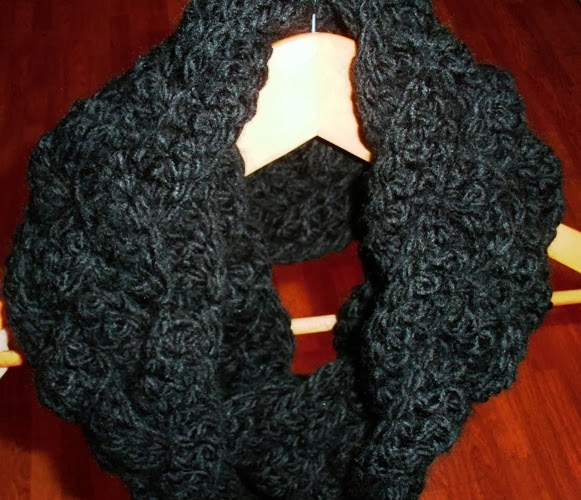 Rapunzel Infinity Scarf Crochet Pattern Free : Beyond the Fringe: December 2013