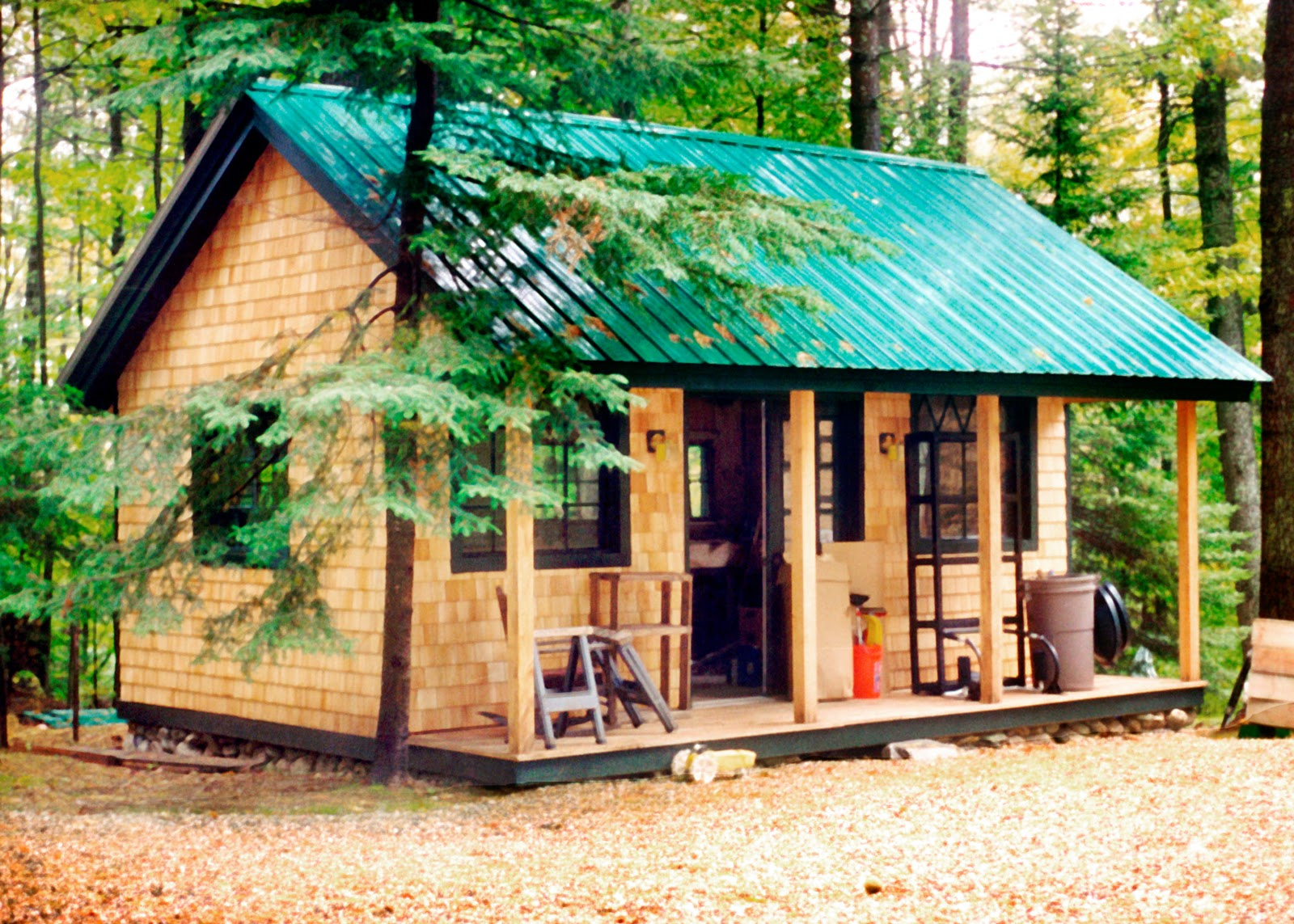 Small Cabins Tiny Houses Plans