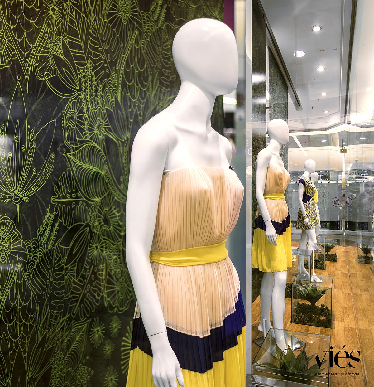 vitrine da loja k9 em bh verão 2015