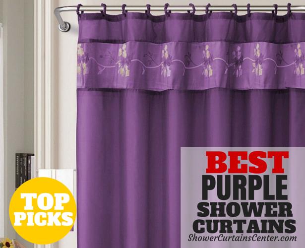 Best Purple Shower Curtains • Curtain It!
