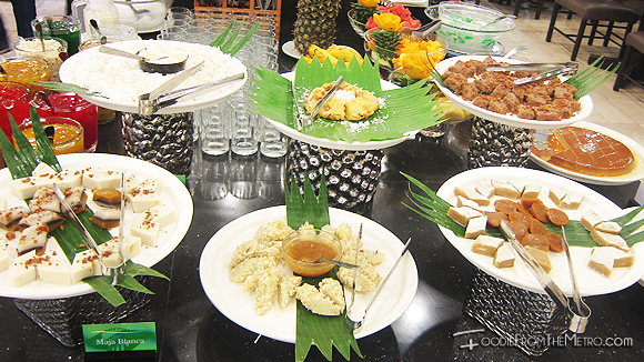 Foodie from the Metro - DADS Saisaki Kamayan Filipino Desserts