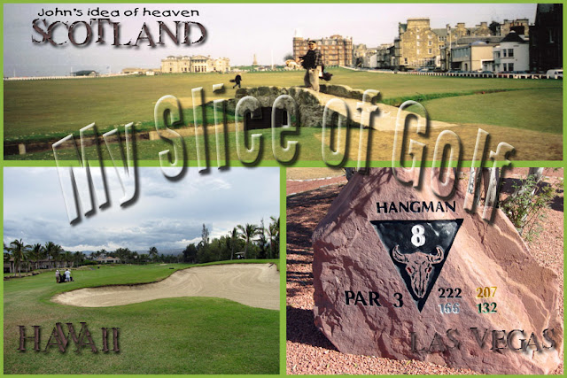 John's Golf blog of Masterful Courses