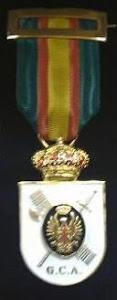 medalla auxiliar