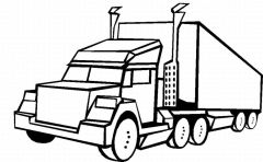 Big Truck Coloring Pages