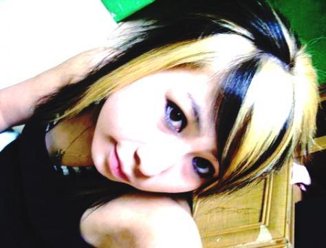 medium length emo hairstyle. medium length emo hair.