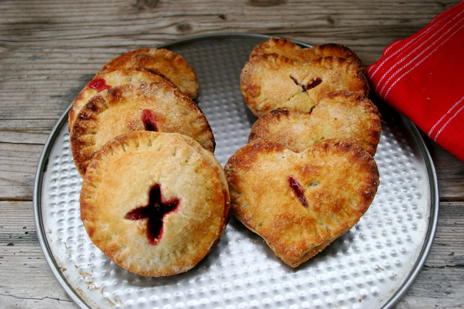 Cranberry Hand Pies