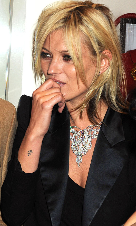 Call me holly celebrity tattoos for Kate moss tattoo