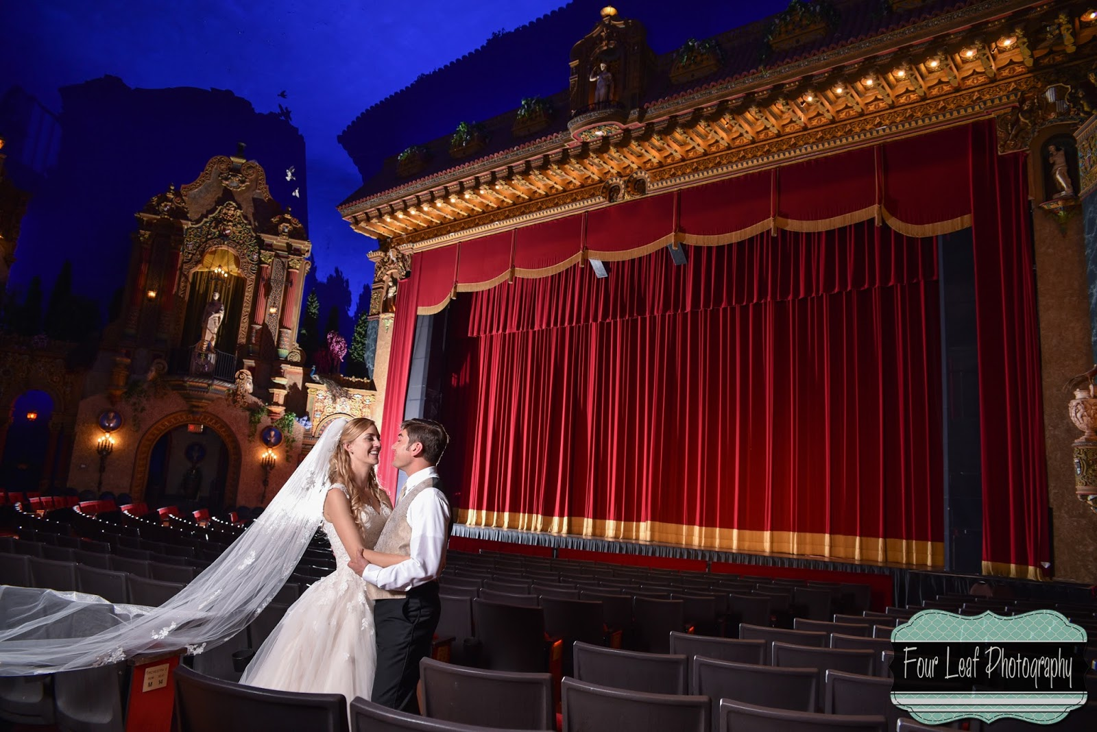 Saenger theater wedding