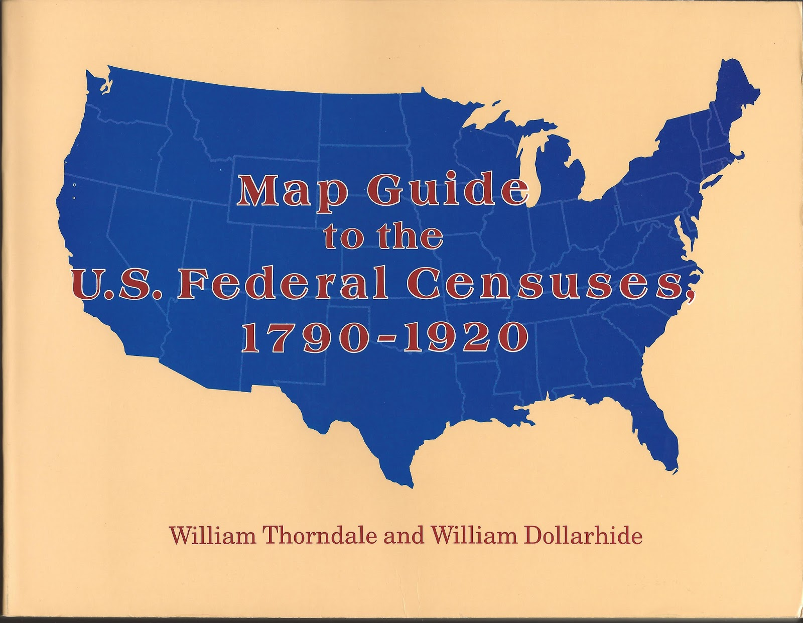 map guide to the u s federal census