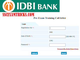 IDBI Executive Admit Card 2015