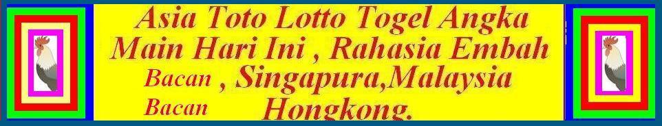 INFO NOMOR Toto Lotto TOGEL HARI INI UNTUK SINGAPURA