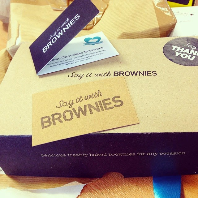 say it with brownies package thank you