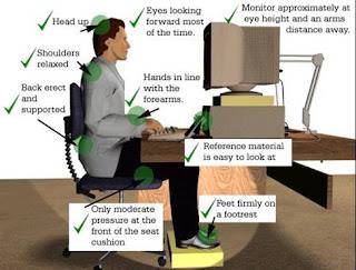 Tips Sehat di Depan Komputer