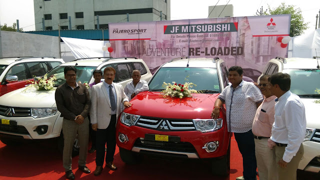 Mitsubishi's new dealership in Nagpur