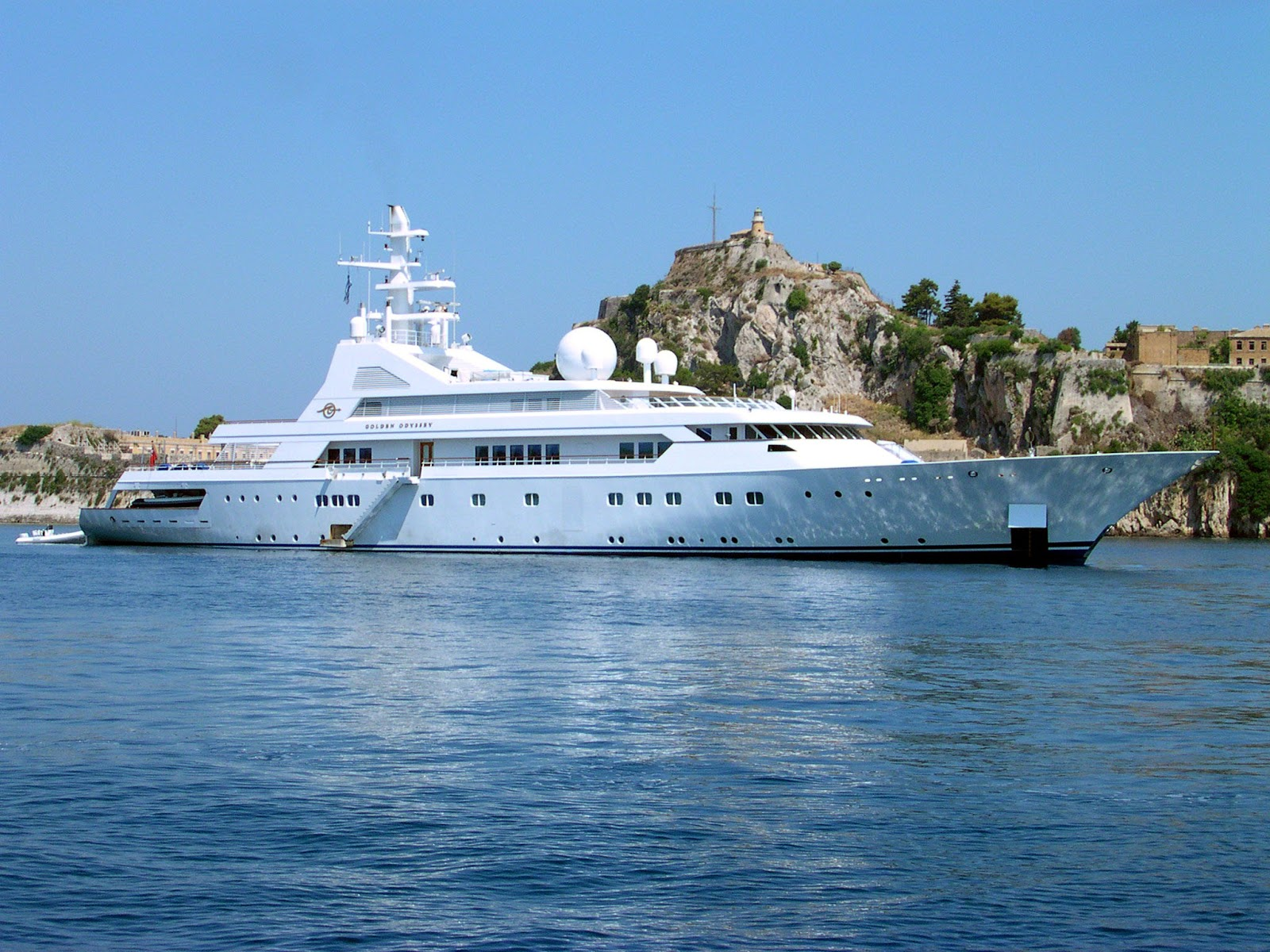Superyacht GOLDEN ODYSSEY II Starboard