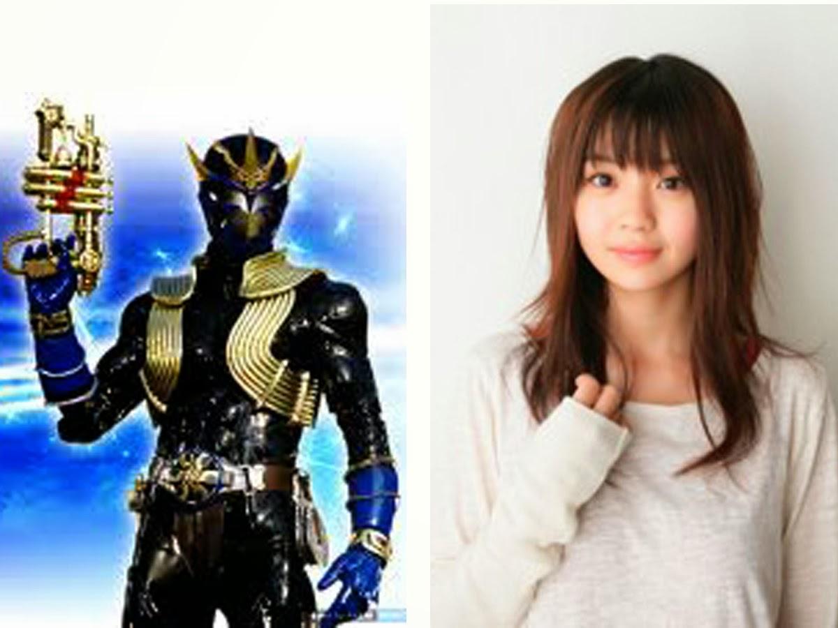 juga Kamen Rider Amaki . Karakter ini diperankan oleh Nana Akiyama