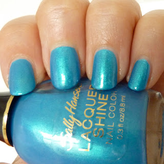 Sally Hansen Laquer Shine Nail Polish Swatch of Flash