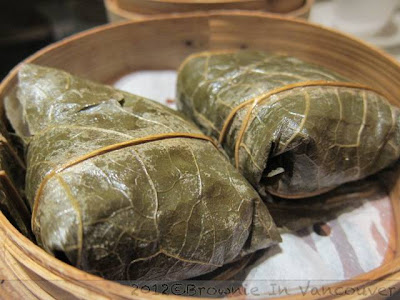 Imperial Treasure Lotus Leaf wrapped Glutinous Rice
