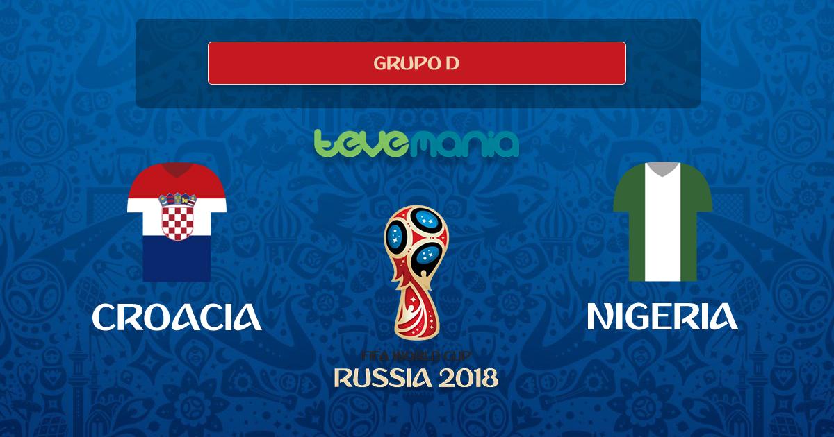 Croacia venció 2 por 0 a Nigeria y es líder del Grupo D