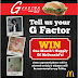 McDonald's G Factor Contest