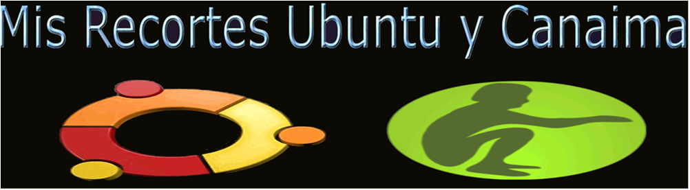 Mis Recortes Ubuntu y Canaima
