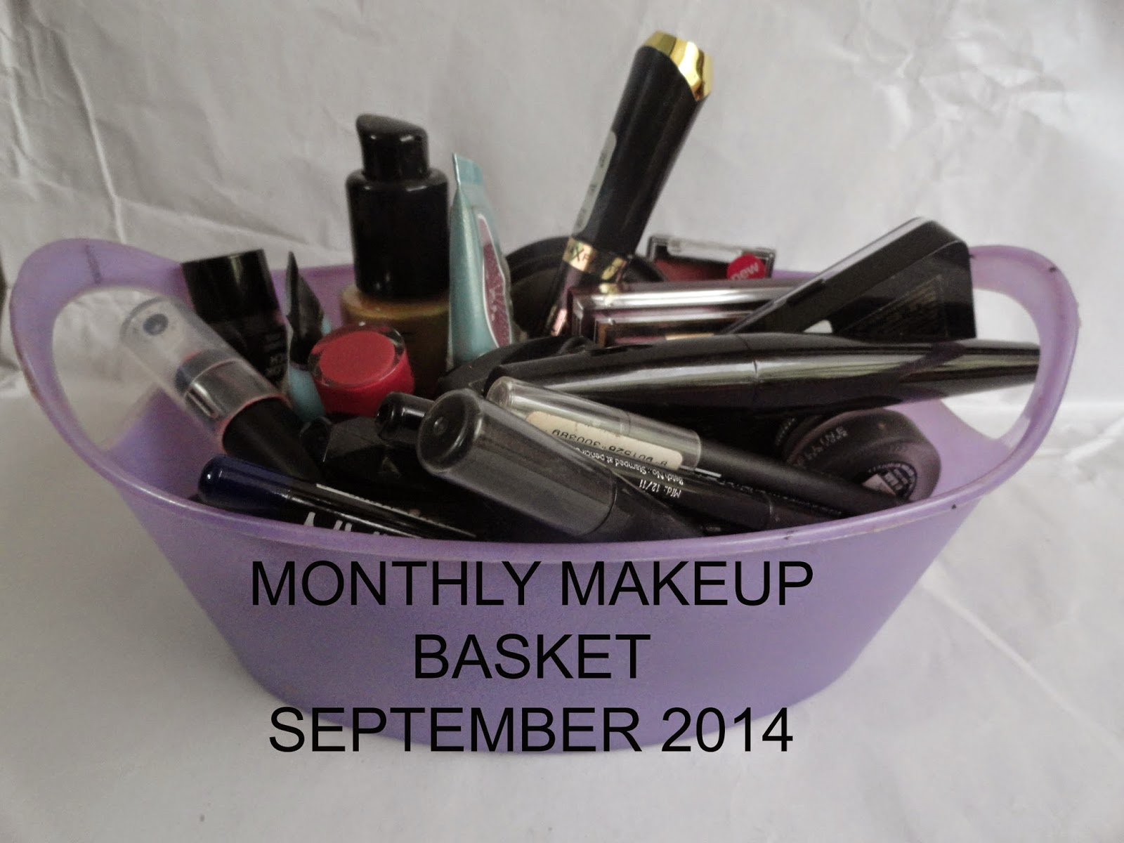 Monthly Makeup Basket: September 2014 image