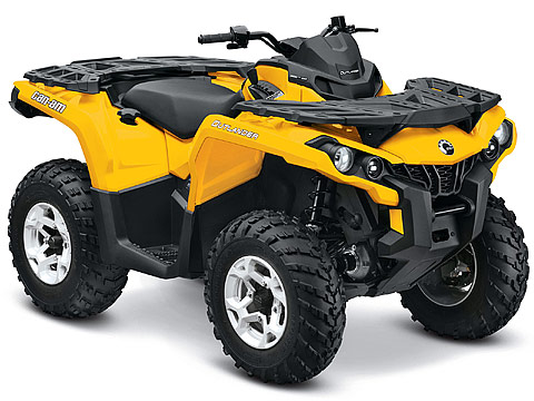 2013 Can-Am Outlander DPS 800R ATV pictures. 480x360 pixels