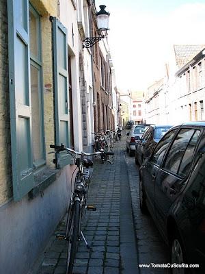 cu bicicleta prin bruges