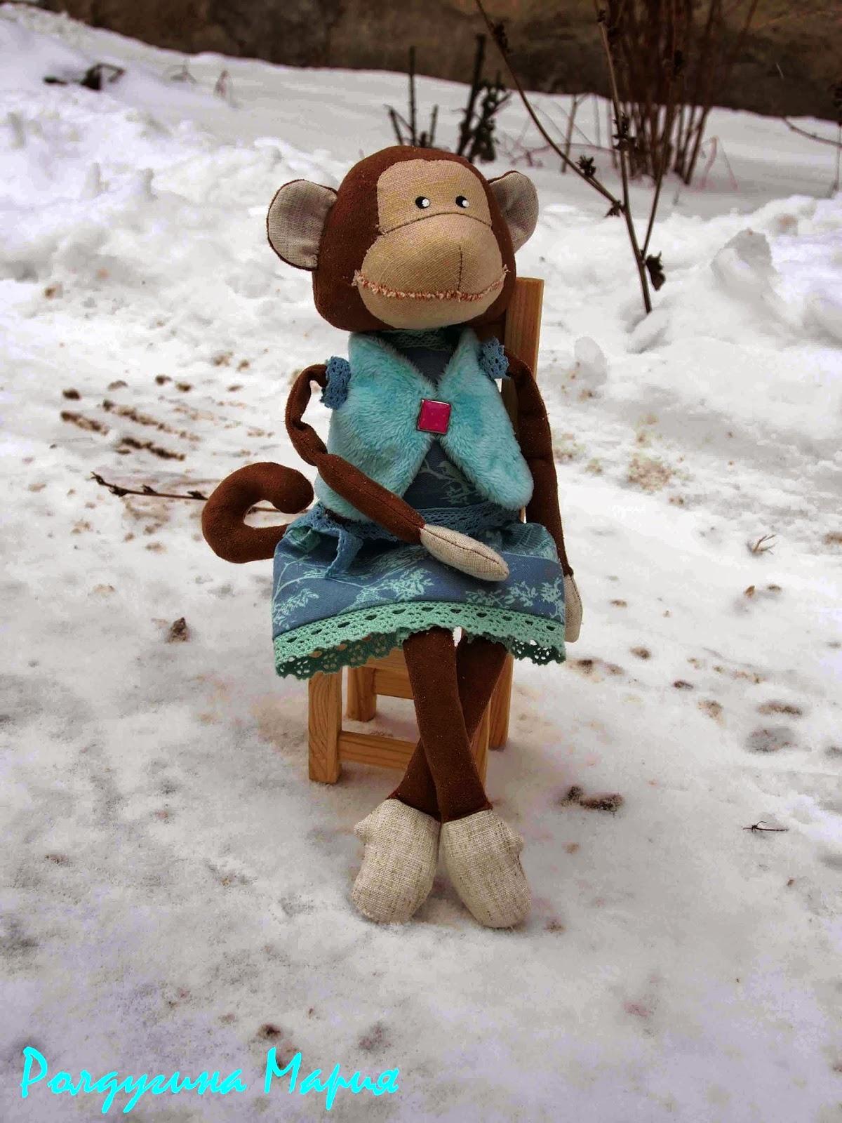 заказать обезьяну игрушку