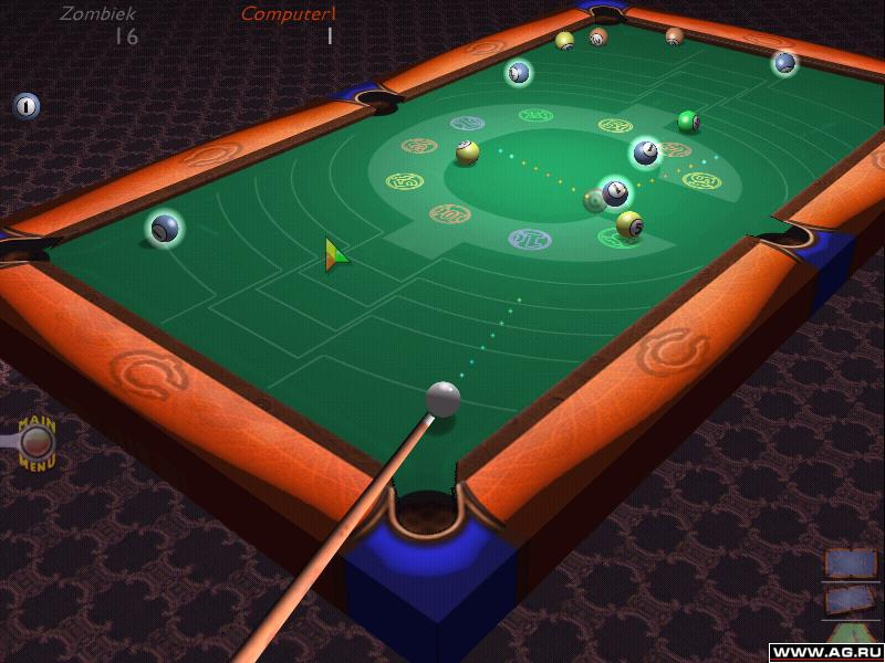 3d billiards game free  for windows 7