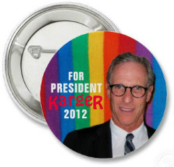 Fred Karger campaign button