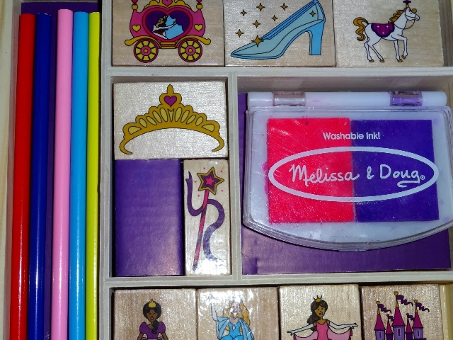 Princess stamp set MyWAHMPlan.com
