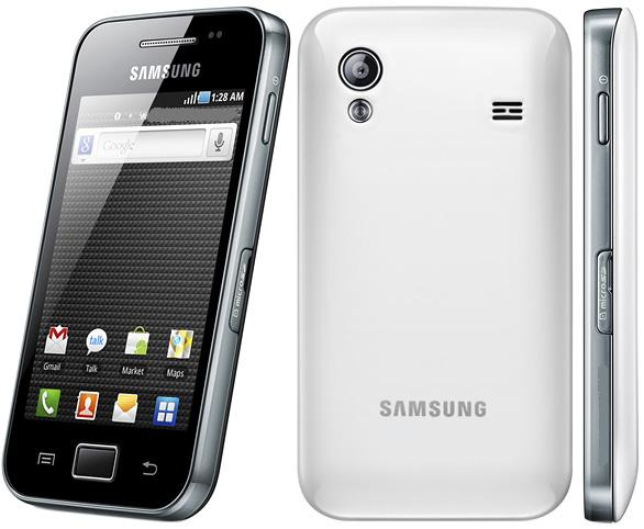 Samsung Galaxy ACE S5830 with Galaxy S2 Styled Custom ROM Firmware