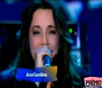 ana carolina premio multishow