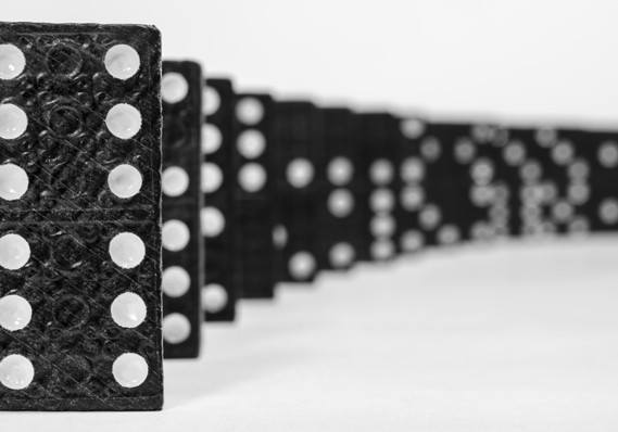 Energy Sector Defaults Could Fall Like Dominoes