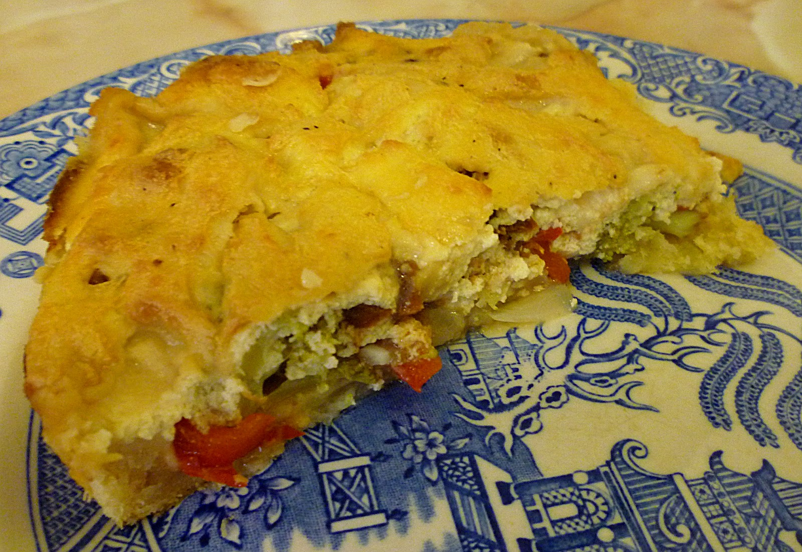 My First Vegan Quiche in Fifteen Years