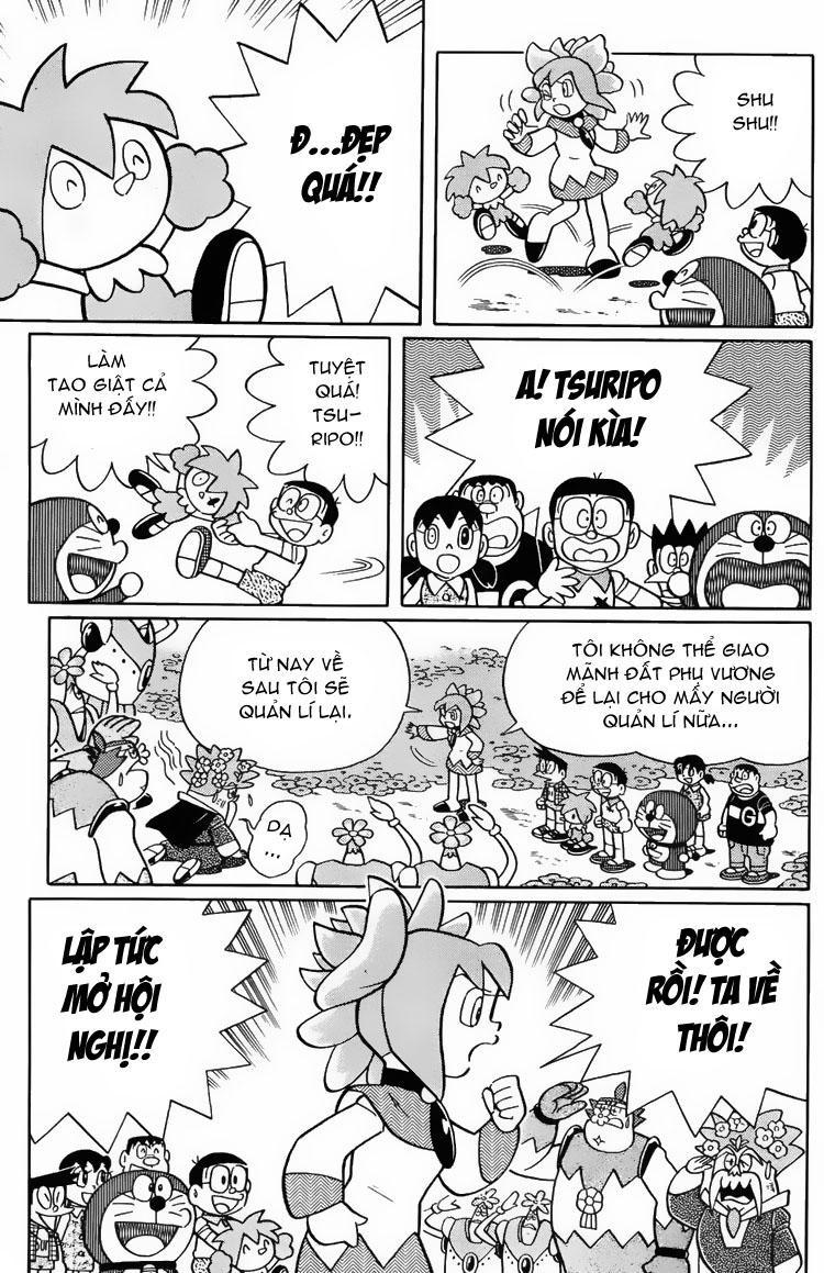 Truyện tranh Doraemon Dài Tập 25 - Nobita và truyền thuyết thần rừng trang 221