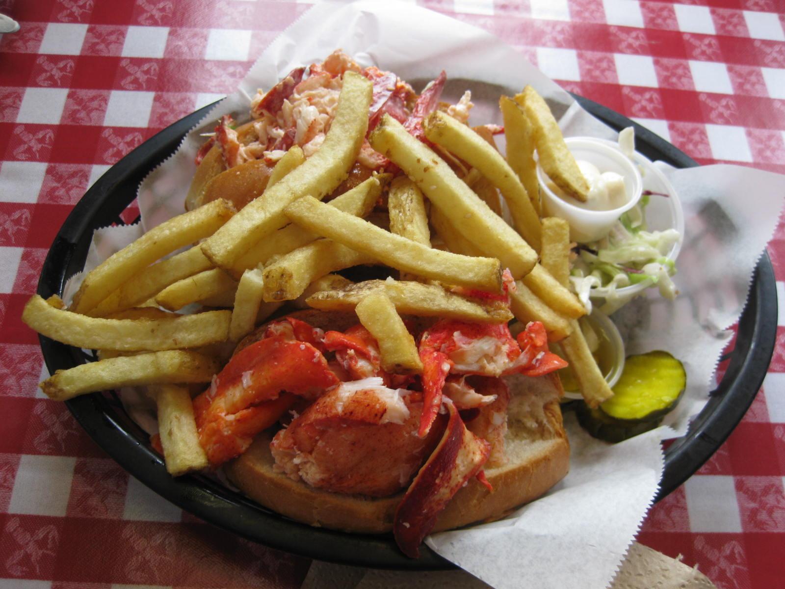 Edibles & Potables: Old Port Lobster Shack