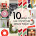 10 Ways to use Christmas Washi Tape