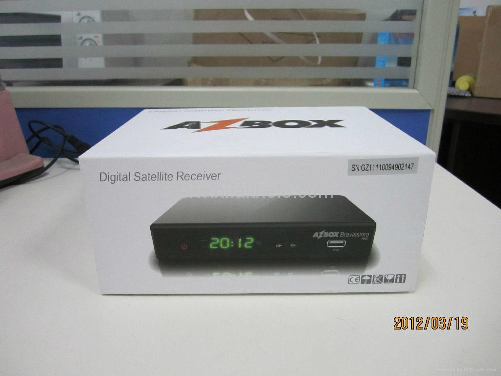 Actualizar Azbox Bravissimo Twin Junio 2013