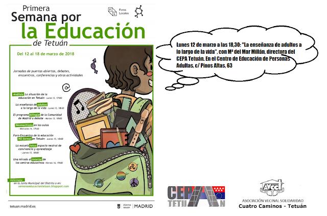 12 - 16 marzo Semana de la Educación en Tetuán