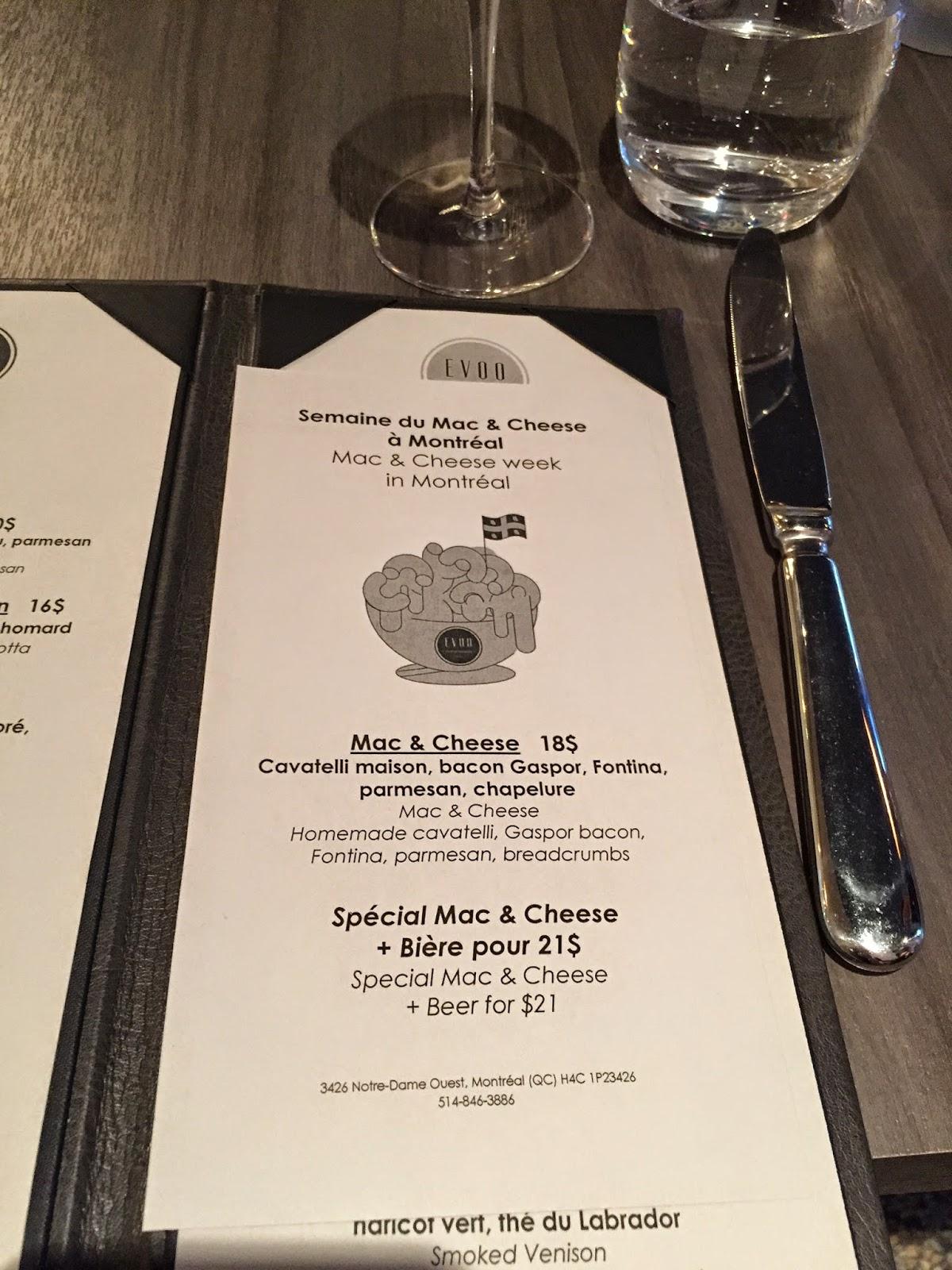 Mac-Cheese-Week-Mtl-EVOO-menu